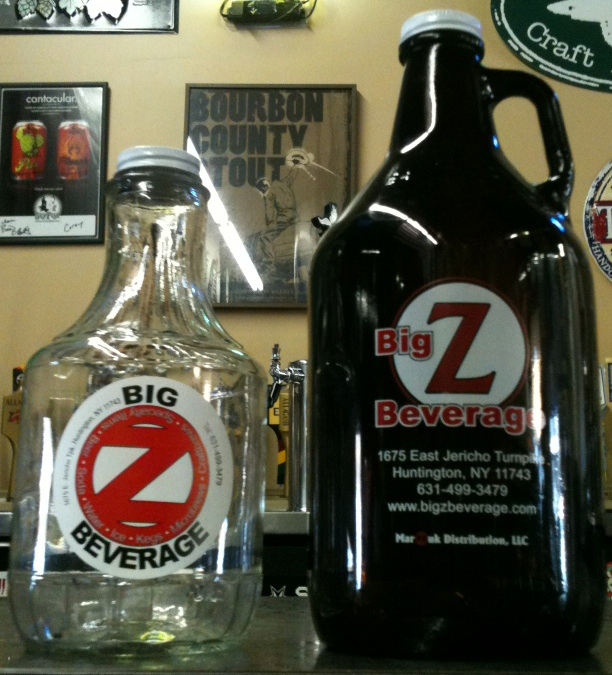 Big Z Beverage Growlers